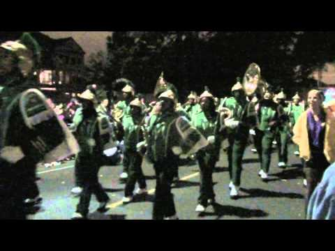 John McDonogh High School Marching Band in Krewe of Nyx Parade - New Orleans