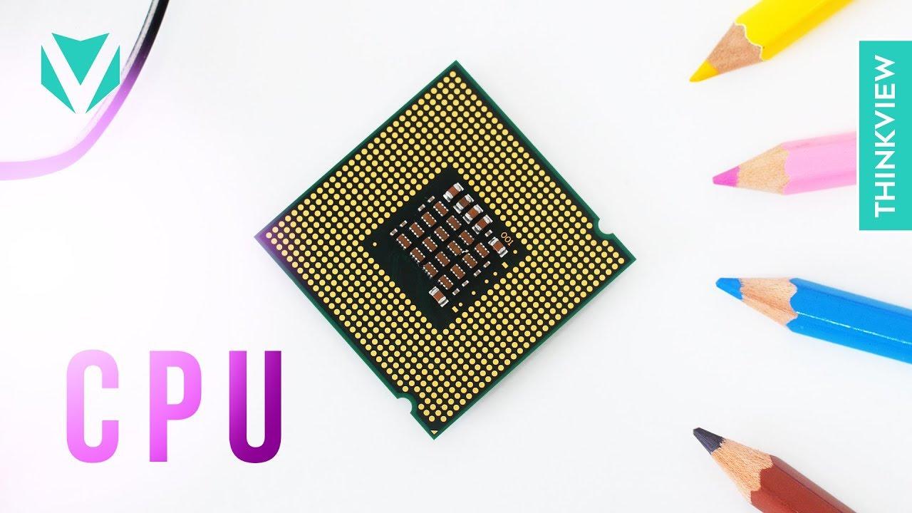 NHÂN - XUNG - LUỒNG: Bạn đã hiểu hết về CPU? || ThinkView