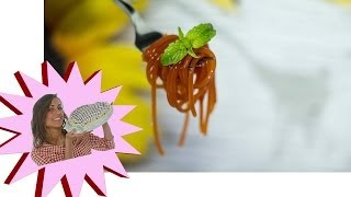 Spaghetti di Pomodoro Molecolari