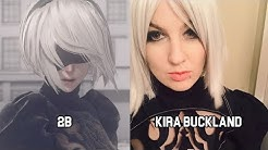 Characters and Voice Actors - Nier: Automata (English and Japanese)