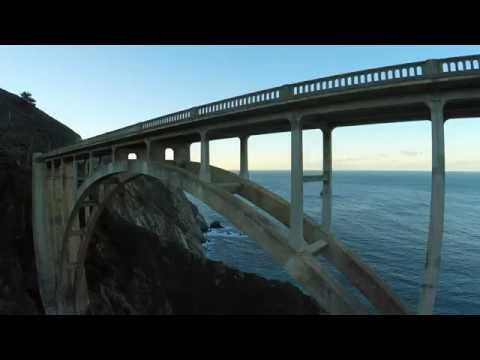 Big Sur and Bixby - GoPro Hero4 - Drone's eye view