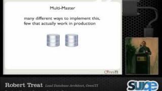 Surge 2010 ~ Database Scalability Patterns