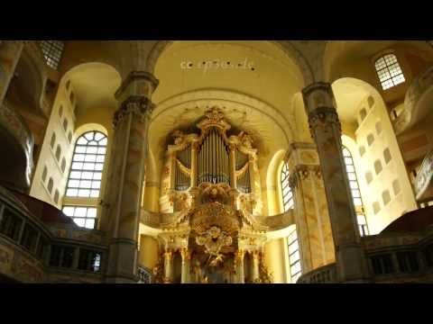 Beautiful Church Dome of Dresden Frauenkirche