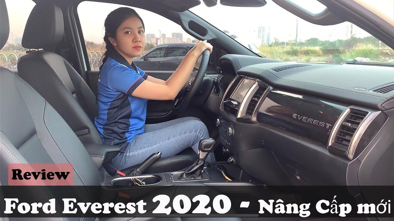 Ford Everest 2020 – Trang bị Công nghệ LED mới | So sánh khác biệt với phiên bản Everest 2019