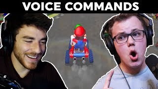 Can You Play Mario Kart With Only Your Voice?