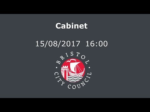 Cabinet Tuesday, 15th August, 2017 4.00 pm