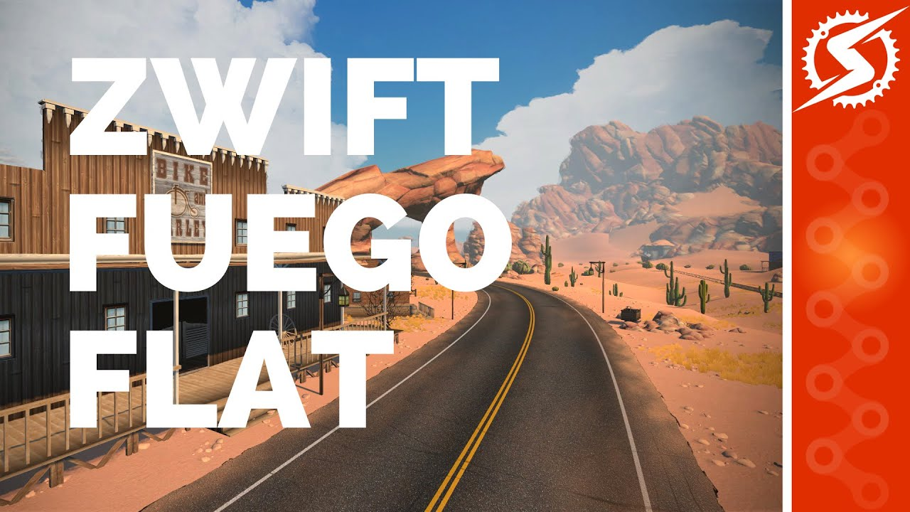 ZWIFT 'FUEGO FLATS' Desert Expansion Course Preview