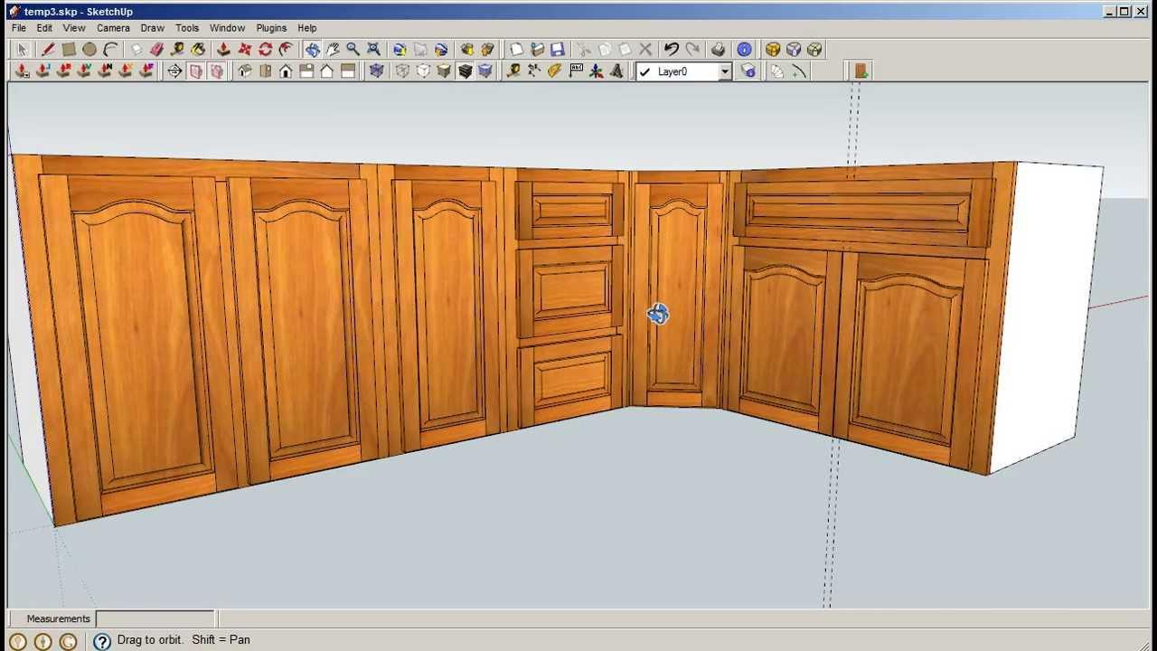 & Sketchup Door Maker - Face Frame - YouTube