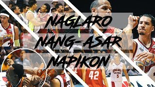 BLACK EYE INABOT NI CHRIS NEWSOME | The Best Action Pack PBA Flagrant Foul