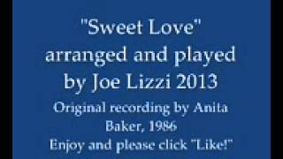 Anita Baker Sweet Love instrumental jazz piano cover