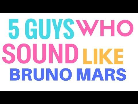 5 Guys Who Sounds Like Bruno Mars