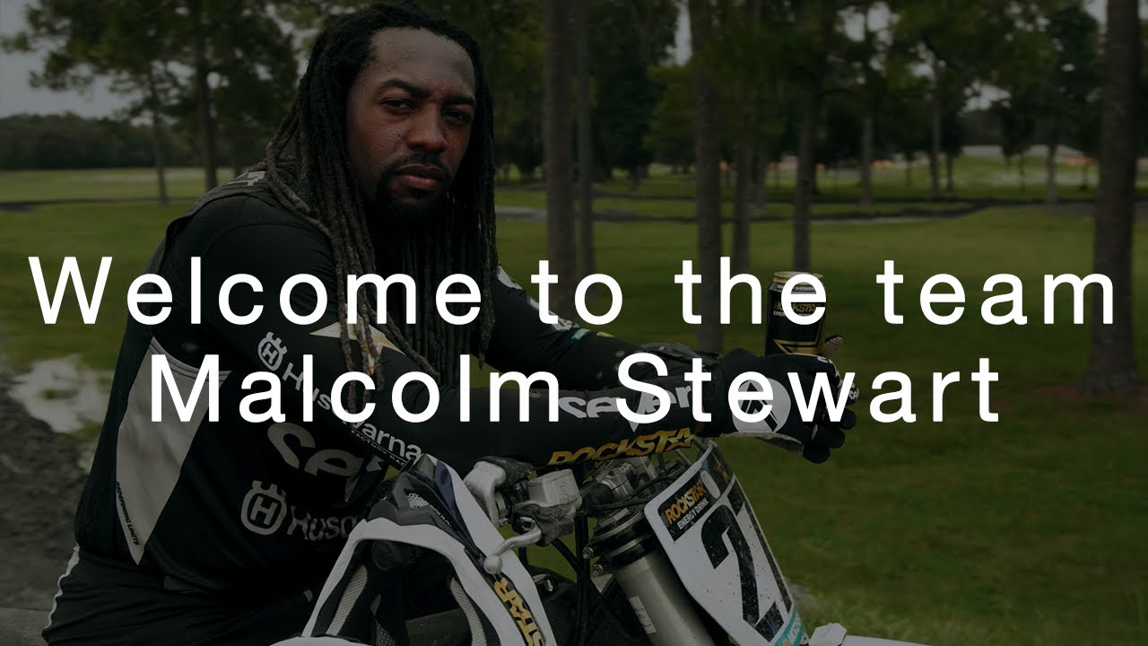 Welcome to the team Malcolm Stewart | Husqvarna Motorcycles