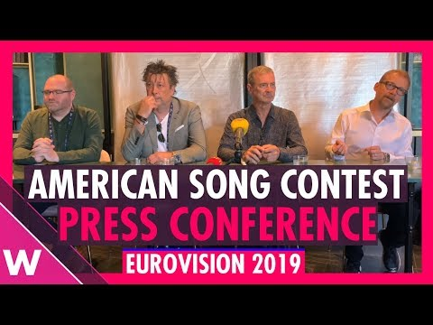 American Song Contest | Press Conference and Announcement