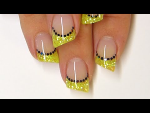 Gel Nails Neon Lipstick