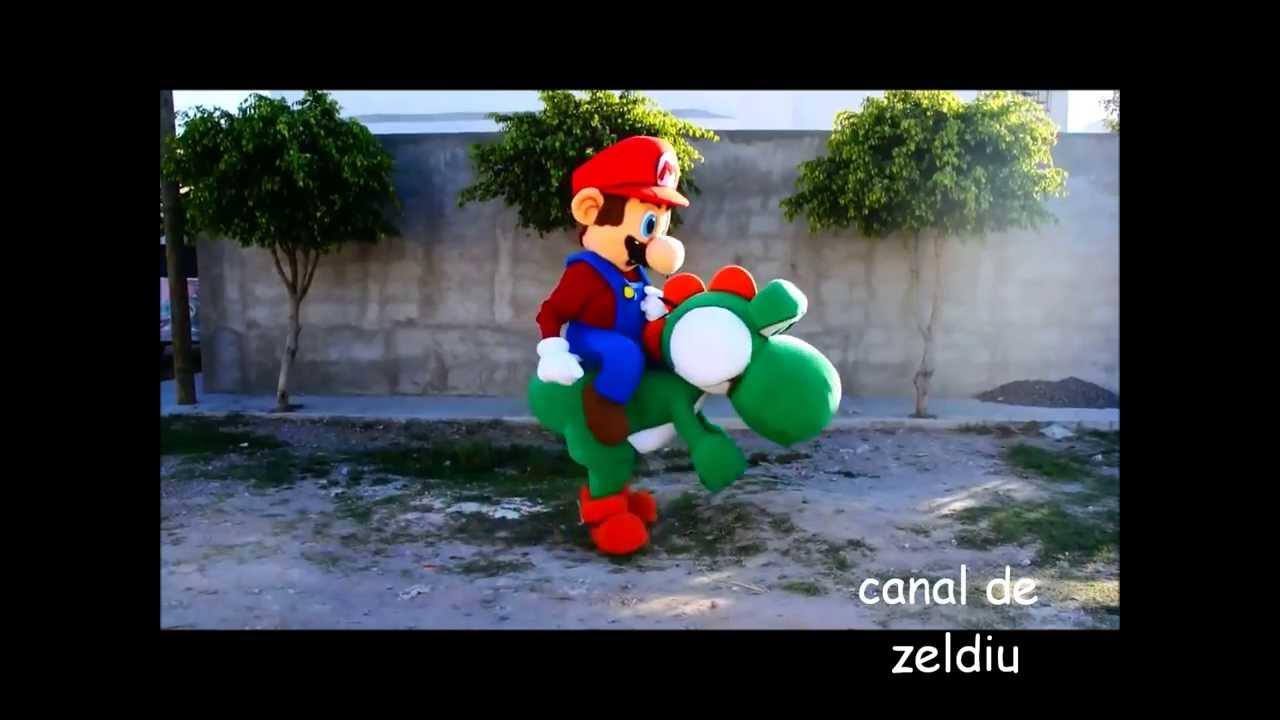 Cosplay De Mario Y Yoshi Youtube