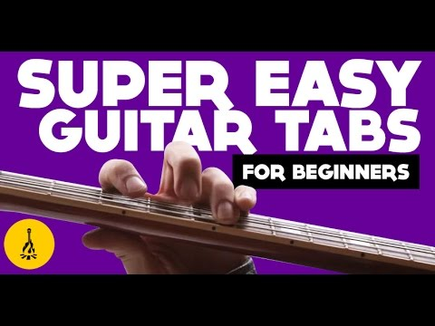 Super Easy Guitar Tabs For Beginner | White Stripes Seven Nation Army Guitar Tutorial