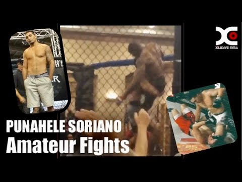 Punahele Soriano EARLY FIGHTS : Hawaiian fighter