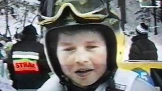 Kamil Stoch - Mistrzostwa Świata Juniorów - Karpacz 2001