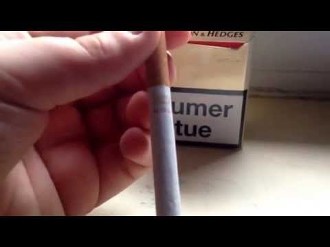 Test Benson & Hedges Gold - cigarette industrielle