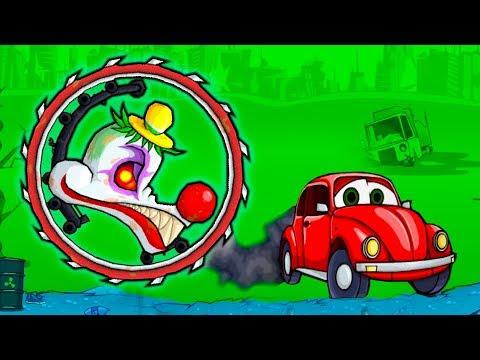 Мультфильм машина ест машину 1