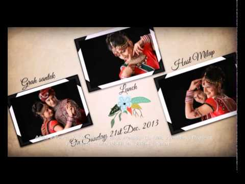 After Effects Wedding Title Wedding album - YouTube
