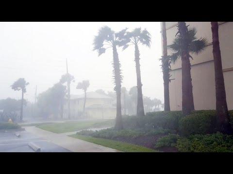 Jacksonville feels storm's power