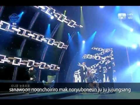 [K-POP] Just follow (by HyunA) - karaoke ver.(CJ E&M)