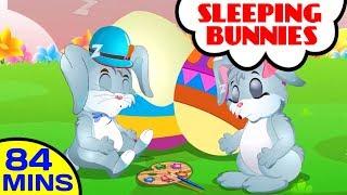 Sleeping Bunnies | More Songs and Nursery Rhymes for Children | Baby Hazel Nursery Rhymes