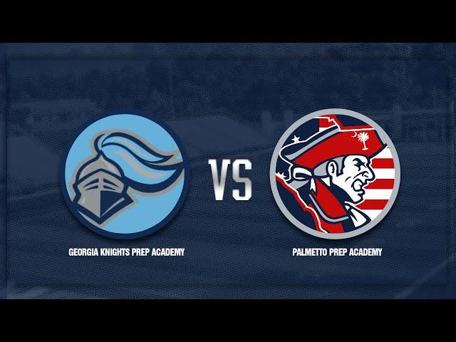 Georgia Knights Prep Academy vs Palmetto Prep Academy