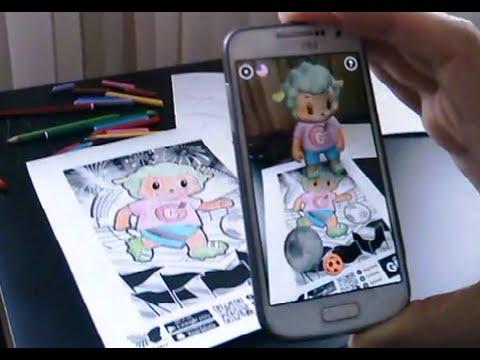 Kagida Boyama Yapin 3 Boyutlu Animasyon Olsun Youtube