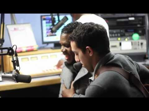 Quintin Richardson Radio interview with Kiss 101.7
