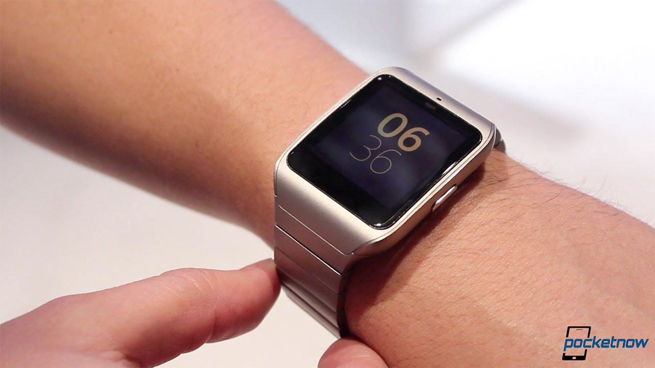 sony smartwatch 3 in metal ces 2015 hands on youtube. Black Bedroom Furniture Sets. Home Design Ideas