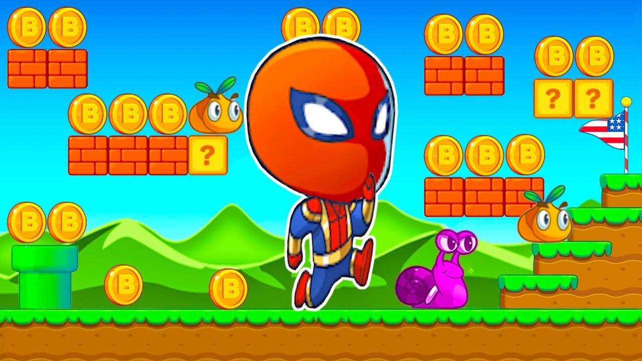 Hombre Araña - Jack´s World Capitulo 2 - Juegos para Niños Pequeños