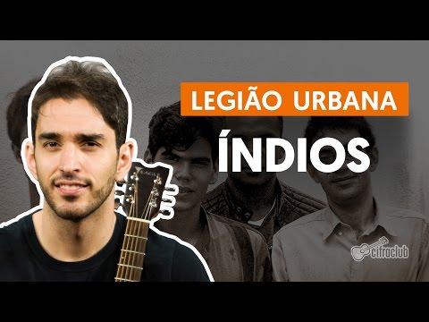 Índios - Legião Urbana (aula de violão simplificada)