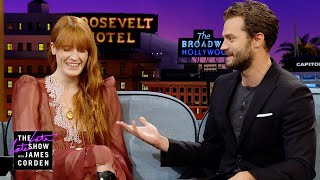 Florence Welch & Jamie Dornan Partied in the Guilty Pleasures Tent