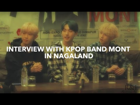 Interview with Kpop Band MONT | Hornbill Festival Nagaland 2018 | Roots & Leisure