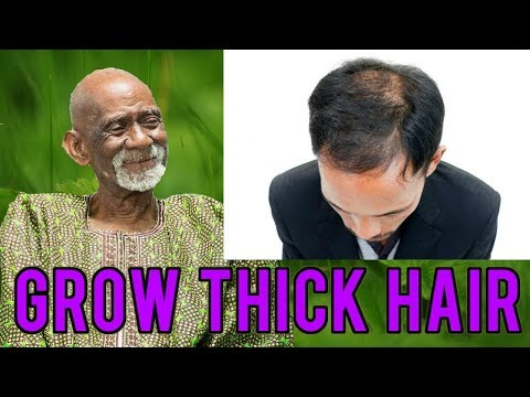 Dr Sebi - Hair Food Herbal Remedy For Strong Thick Hair