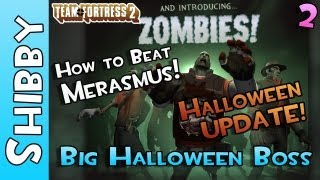 TF2 - How to beat Merasmus Boss & Skull Island Hat (Team Fortress 2 - Halloween Update)