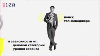 ТОП-100. Обзор рынка рекрутмента Украины