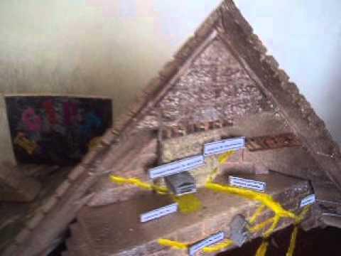 maqueta de piramide jaguar maya doovi