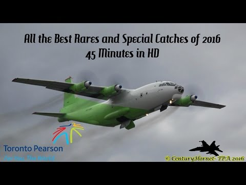 All the Best Rares and Special Catches of 2016 @ Toronto Pearson Int'l