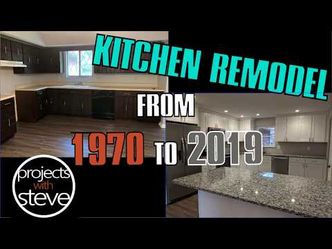 BEFORE & AFTER KITCHEN REMODEL – 1970 TO 2019!!