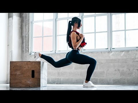 Leg Workout to Build Muscle From Home