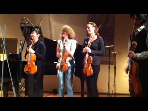 Happy Birthday Nobuko, for 9 violas