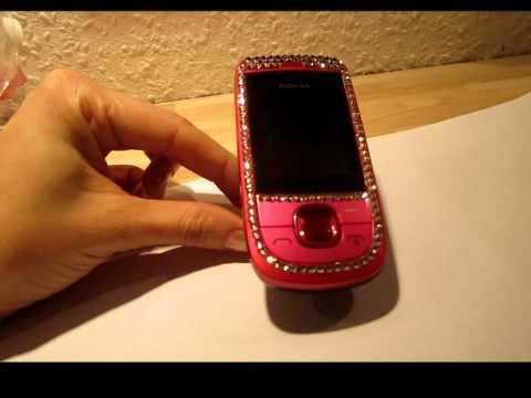 Nokia 2220 slide 2220 - hot pink SWAROVSKI EDITION