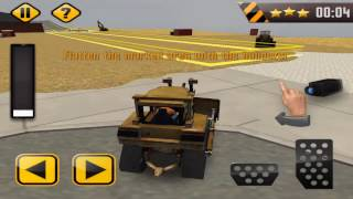Construction Sim 3D Road works - Gameplay video