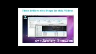 [Video Recovery for iPhone ]Recover lost Videos,deleted Video from iPhone