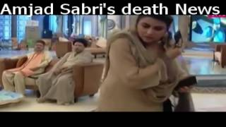 What happen when Amjad Sabri's Death News Take-Place During Live Show
