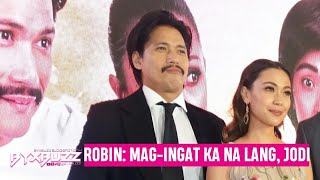 "Robin Padilla on falling in love with his leading lady Jodi Sta. Maria: ""Mag-ingat ka na lang Jodi"""