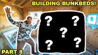 Building an OFF-GRID CABIN in My BACKYARD!!! (Part 8)